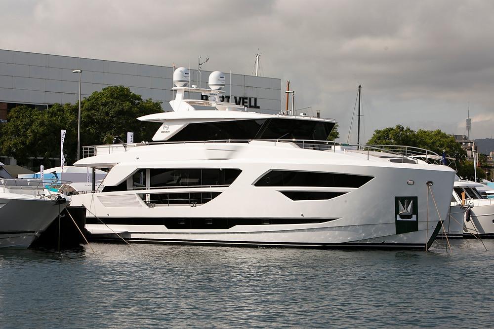 presencia de Horizon Yachts en el salon nautico internacional de barcelona 2021