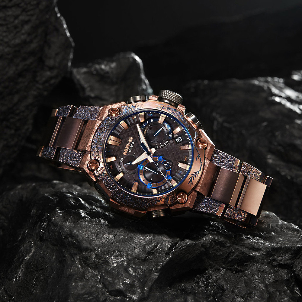 Reloj premium titanio Casio G-Shock MRG-B2000SH año 2020