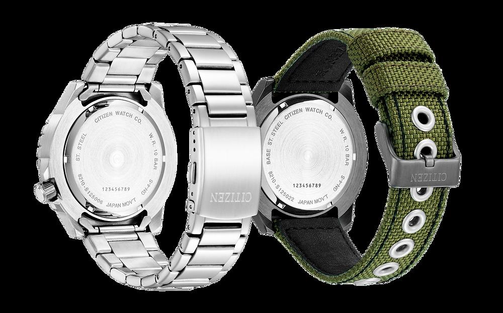 tapa roscada fondo reloj Citizen of collection modelos nj2190-85e y NJ2197-19E