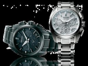 Nuevos modelos de reloj de titanio Seiko Astron 5X