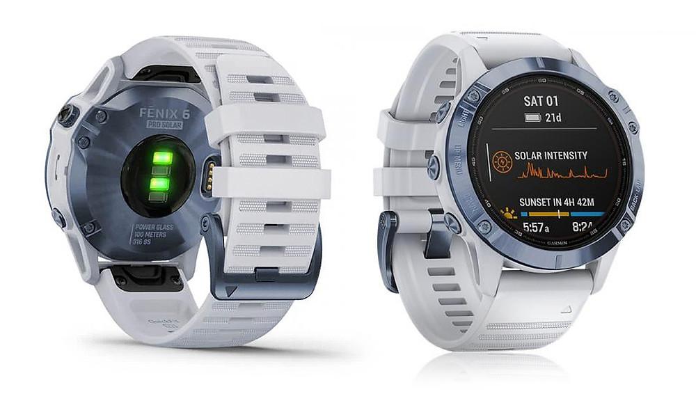 reloj deportivo Fenix 6 pro solar comparado con g-shock gswh1000