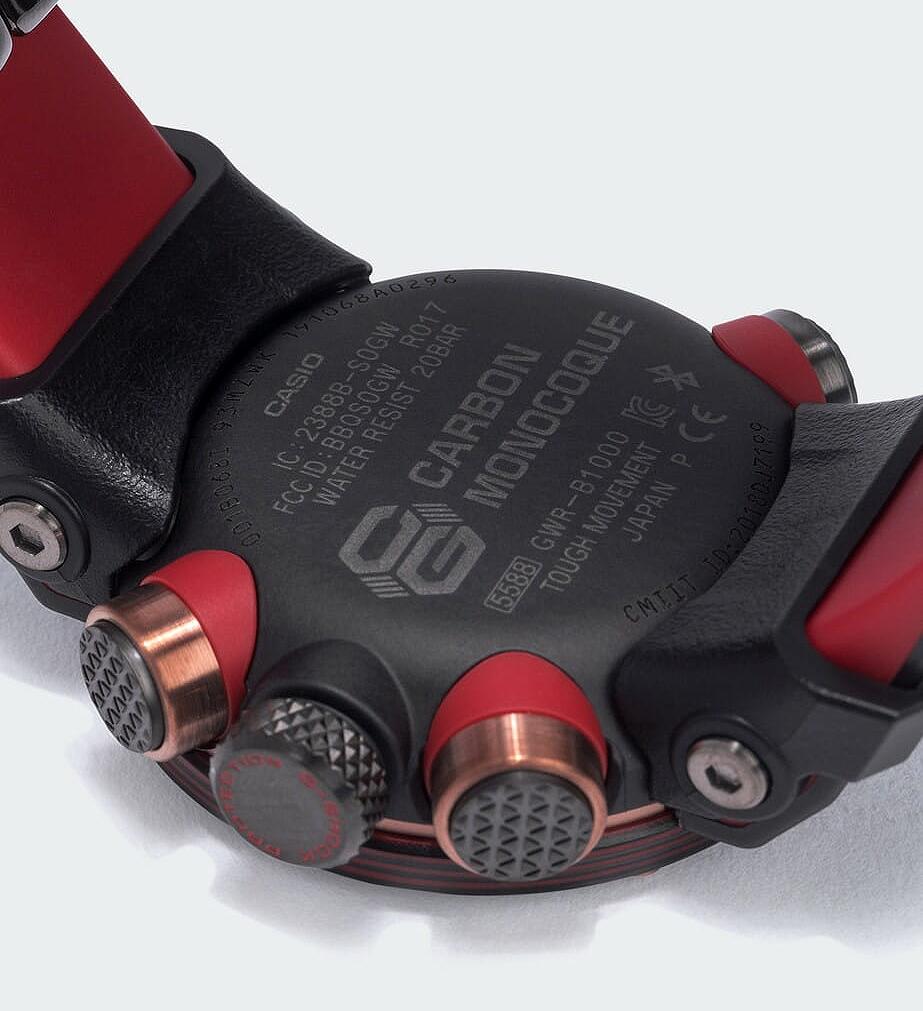 Caja monocoque en carbono nuevo Gravitymaster modelo GWR-B1000X
