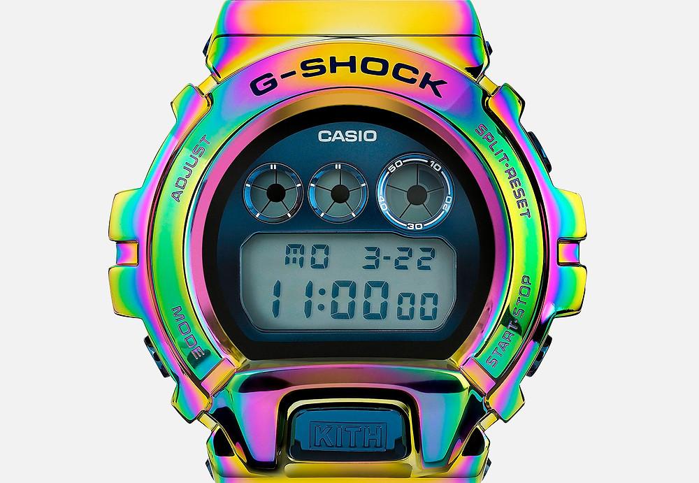 edicion limitada g-shock x kith GM-6900KITH-2CR