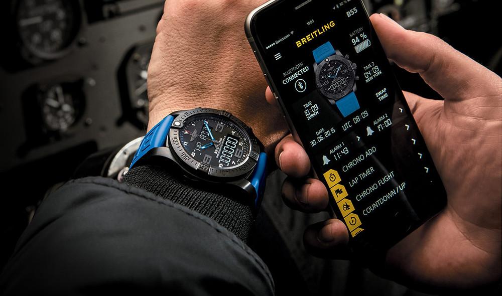 Btreitlin b55 exospace connected, reloj smartwatch alta gama