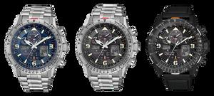 JY8085-14H reloj Citizen Pro Pilot SkyHawk
