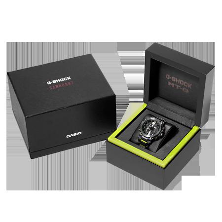 caja reloj G-SHOCK x SANKUANZ MTG-B2000SKZ-1A