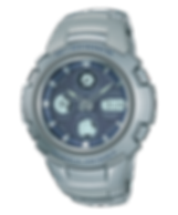 Primer reloj radio-controlado analogico y digital GW-1000DJ-2A