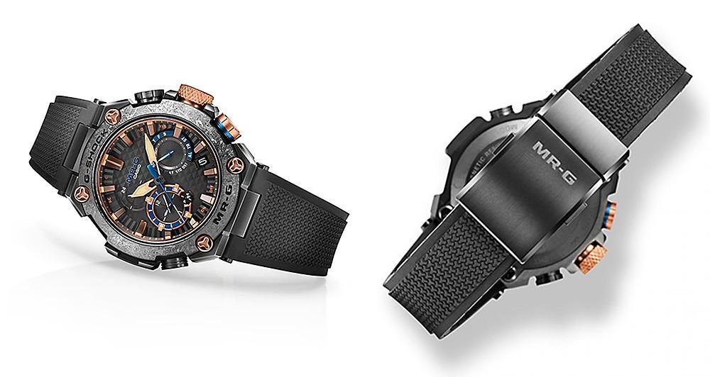 MRGB2000R1A reloj japones casio g-shock de lujo con titanio app zafiro dura-soft