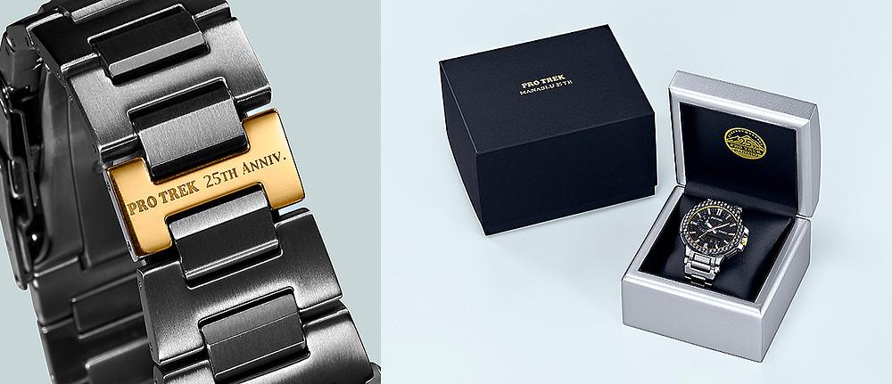 detalles edicion limitada reloj casio protrek PRX-8025HT-1