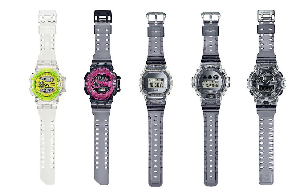 Nueva colección de relojes G-Shock primavera 2019