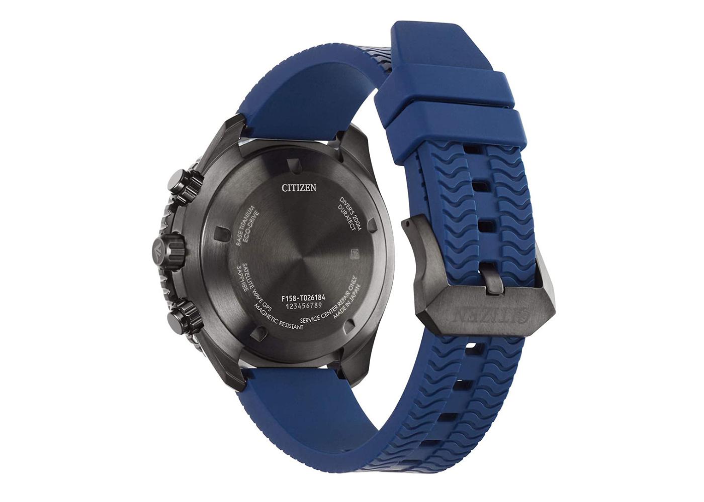 Reloj Diver's Promaster GPS ref cc5006-06l tapa trasera