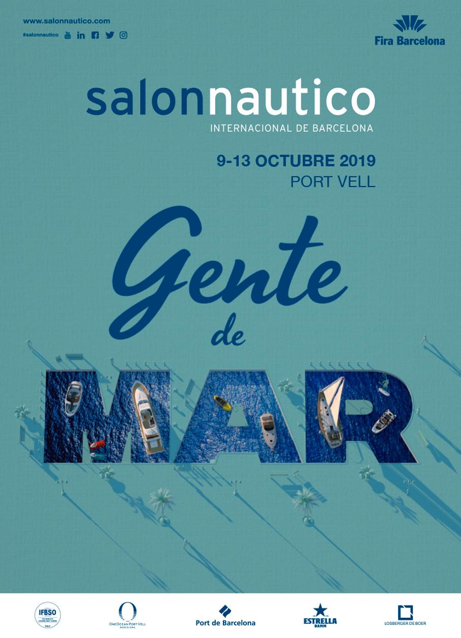 Imagen oficial salon nautico internacional de barcelona 2021
