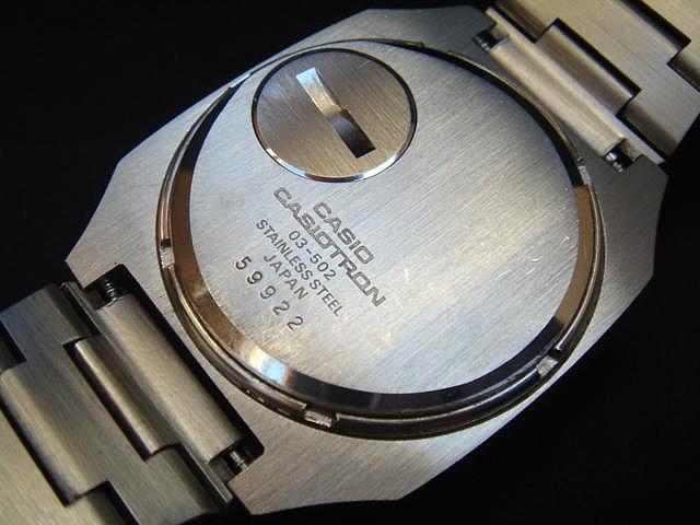 Reloj Casiotron: los primeros Casio