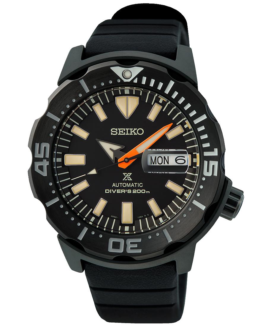 Seiko Monster black series SRPH13K1 edicion limitada a 7000 relojes