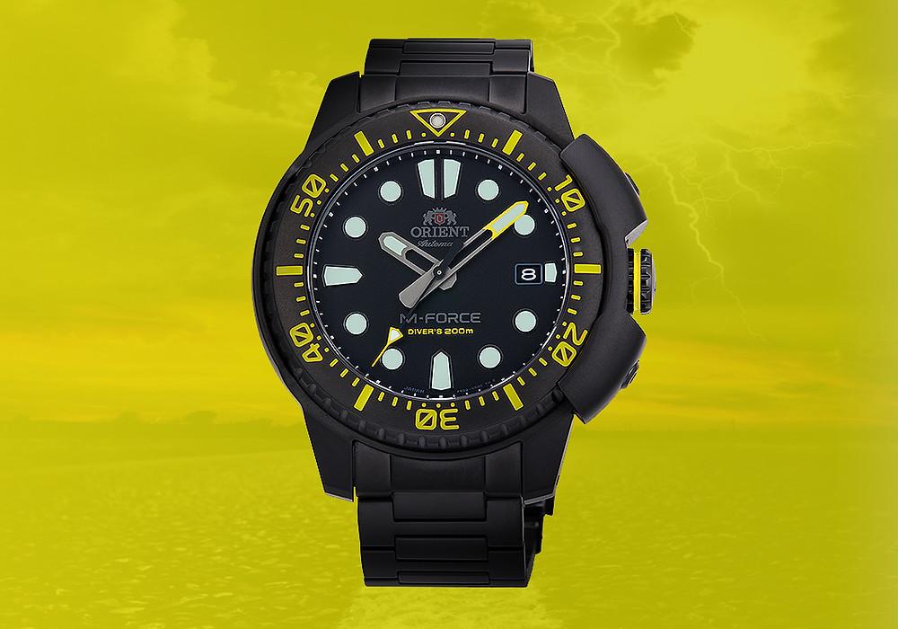 reloj-orient japones divers 200m edicion limitada raikou 147-RA-AC0L06B00B