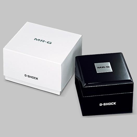 Caja reloj casio MR-G premium titanio zafiro bluetooth MRG-B2000B-1A