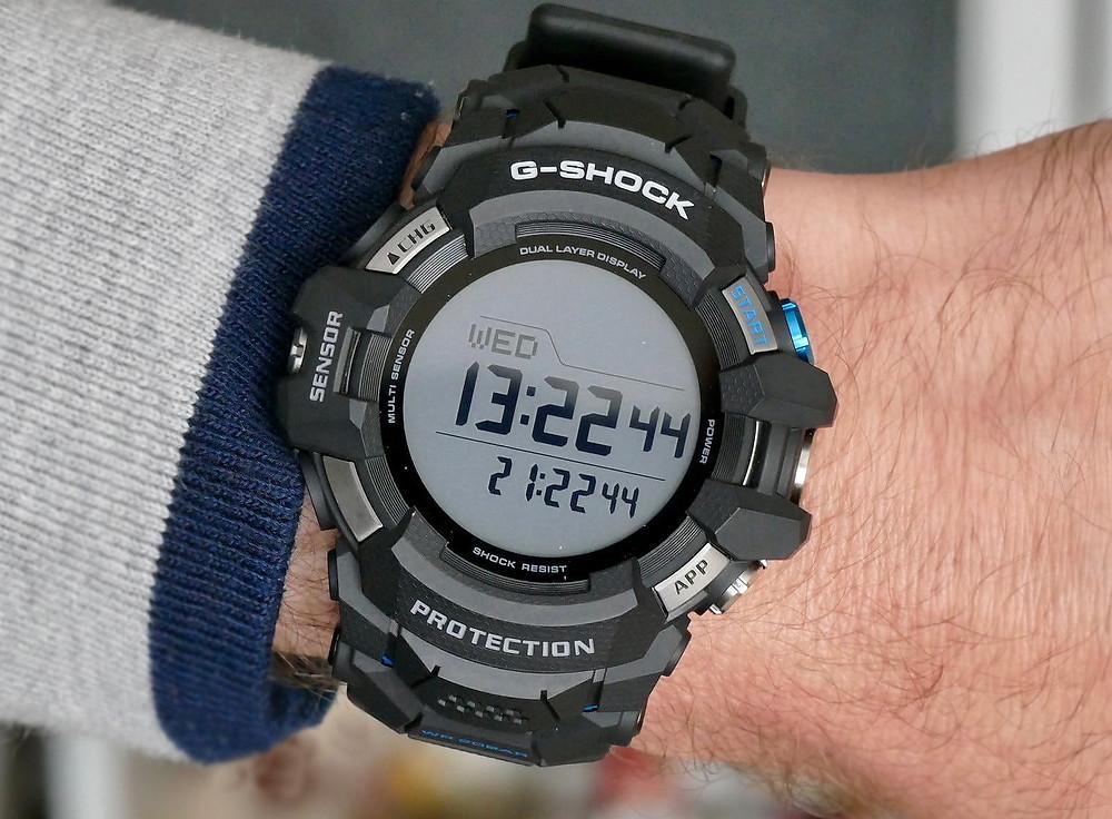 vista general pantalla g-shock gsw-h1000 smartwatch 2021 novedad