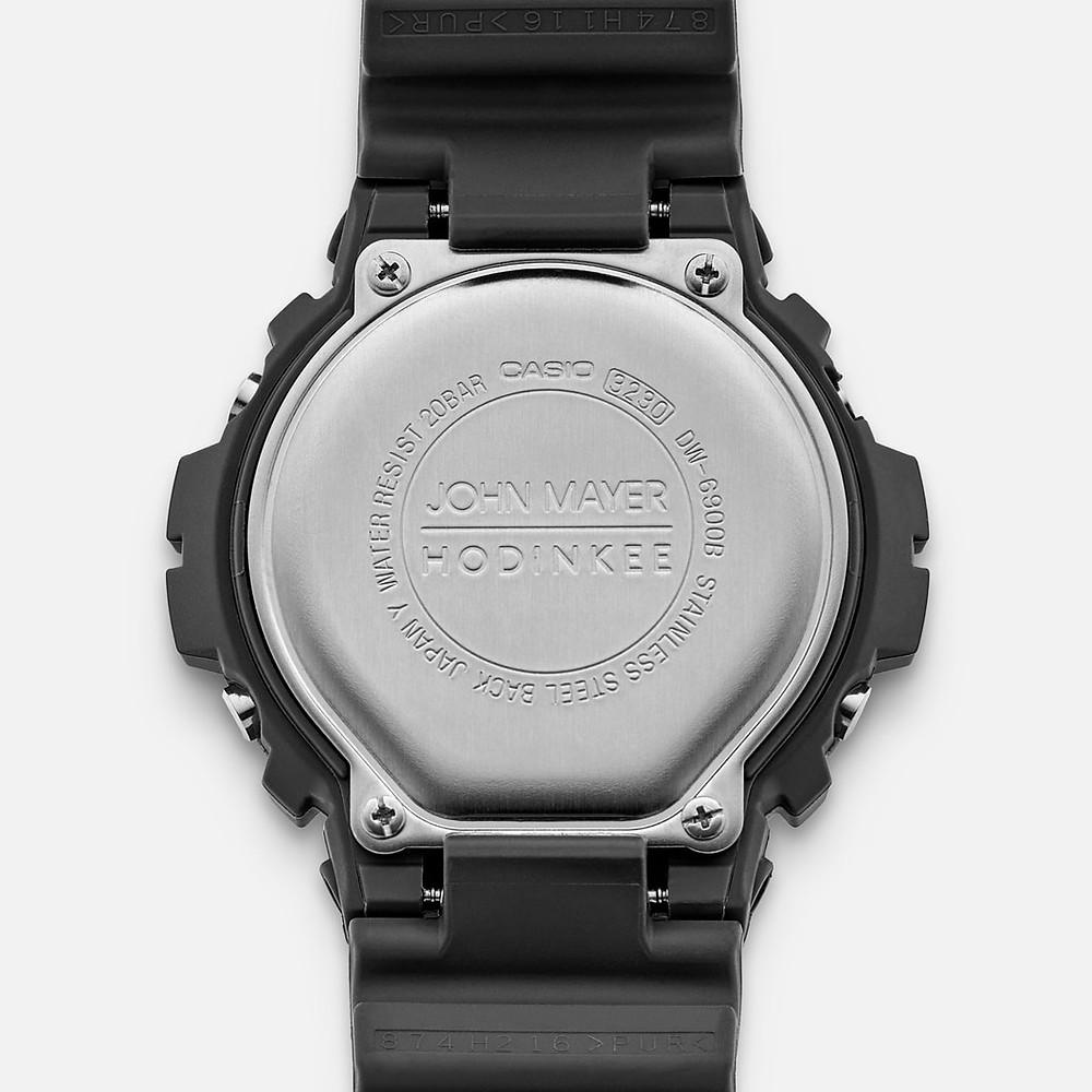 detalle made in japan del reloj limitado DW6900JM20-8CR