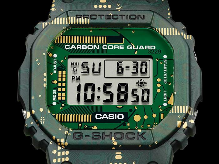 Esfera con camuflaje nuevo reloj digital DWE-5600CC-3