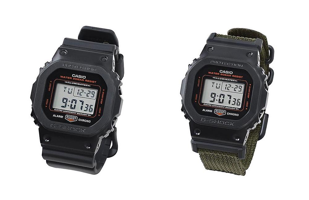 reloj yoshida porter x g-shock edicion limitada gm5600ey