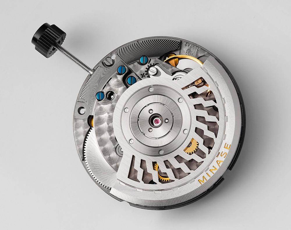nuevo calibre kt7002 Minase relojes timepieces japonesas
