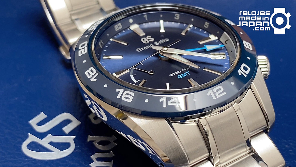 nuevo reloj spring drive de grand seiko gmt sport collection SBGE255G