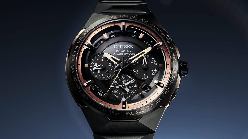 Citizen edicion limitada reloj  calibre F950 gps ecodrive ref CC4025-82E