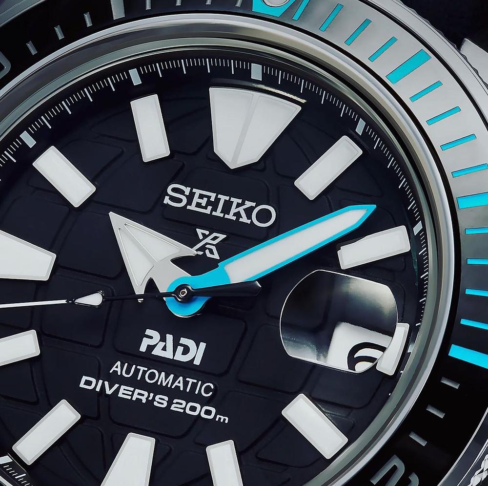 detalle reloj padi 2021 samurai SRPG21K1