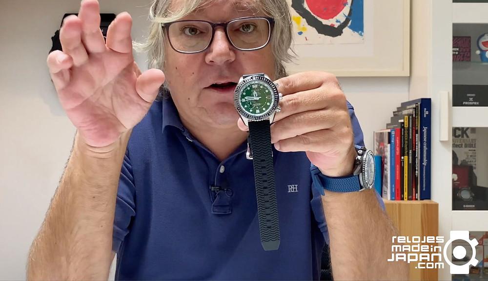 Video reportaje reloj Citizen Promaster con GPS y Super Titanium cc5006-06l