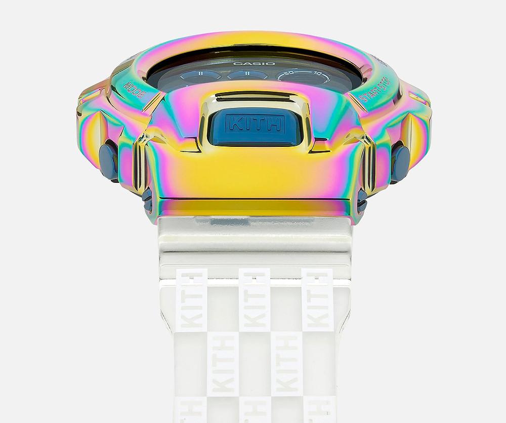 detalles bisel reloj g-shock x kith GM-6900KITH-2CR