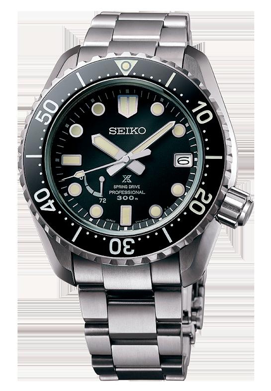 reloj diver's japones tecnología spring drive modelo SNR029J1 prospex LX