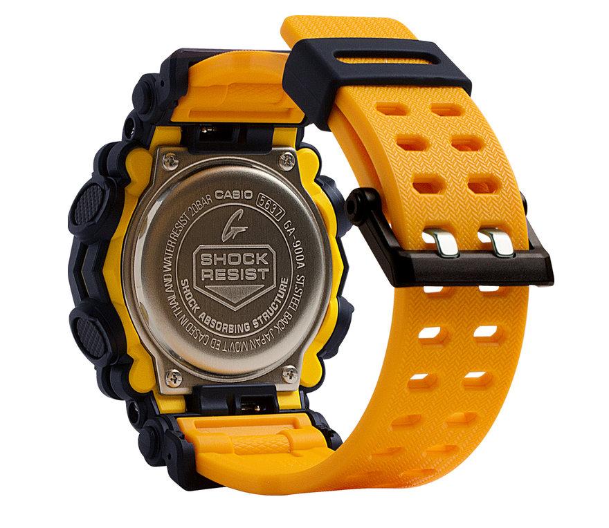 detalle tapa de fondo roscada reloj GA-900A-1A9ER Casio G-Shock