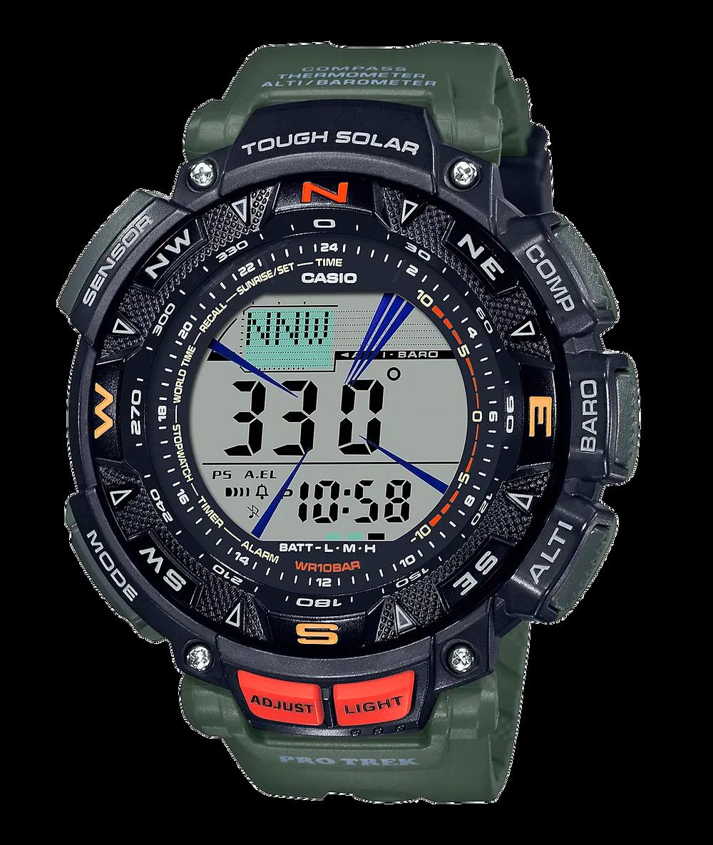 reloj novedad de Casio Pro Trek 2021 modelo PRG-240-3