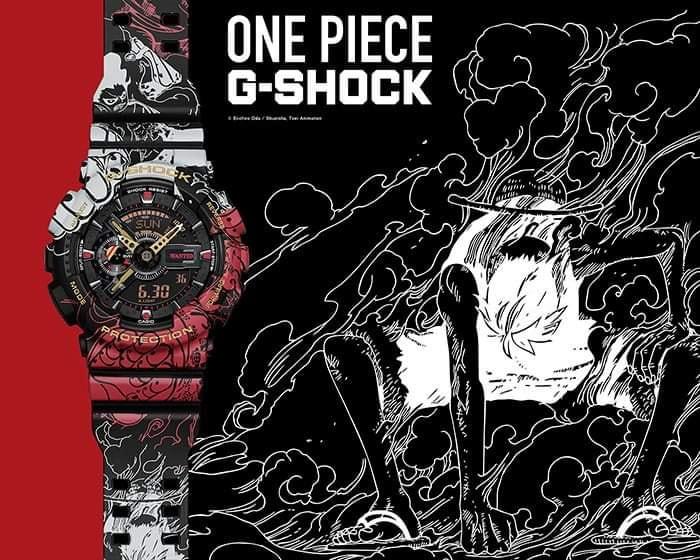 Reloj edicion limitada One Pieze x G-Shock referencia GA-110JOP-1A4