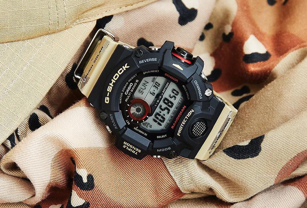 reloj G-SHOCK Desert Camouflage modelo GW-9400DCJ