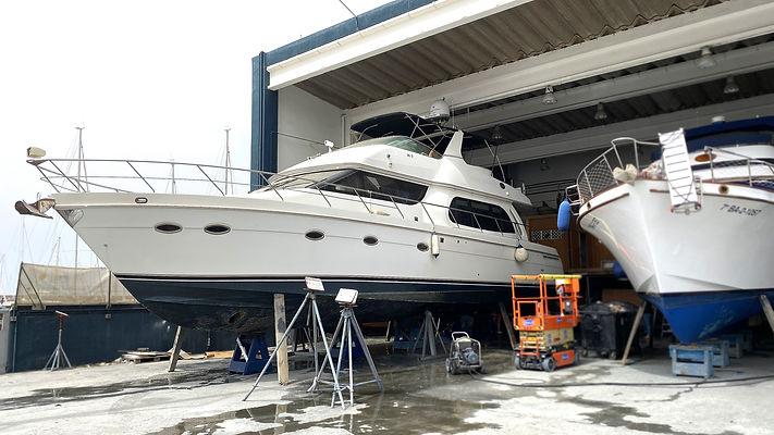 servicio mantenimiento premium barcos