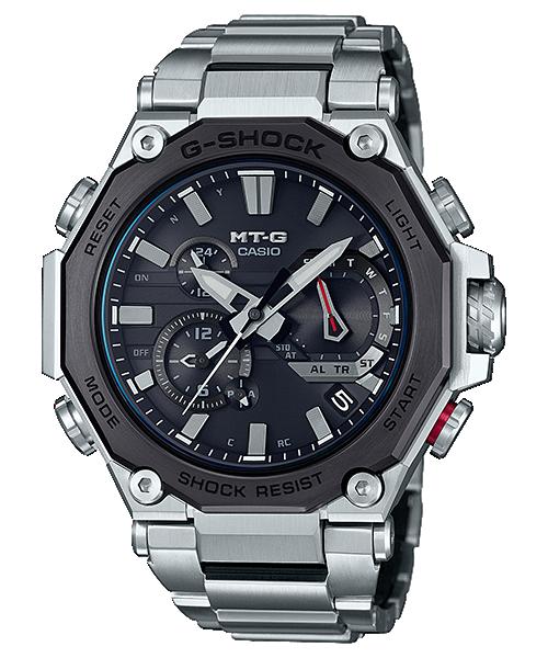 Reloj Casio MTG-B2000D-1A Multiband 6 y solar, con cristal zafiro