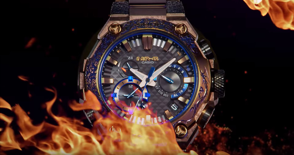 reloj edicion limitada casio MRG-B2000SH-5A