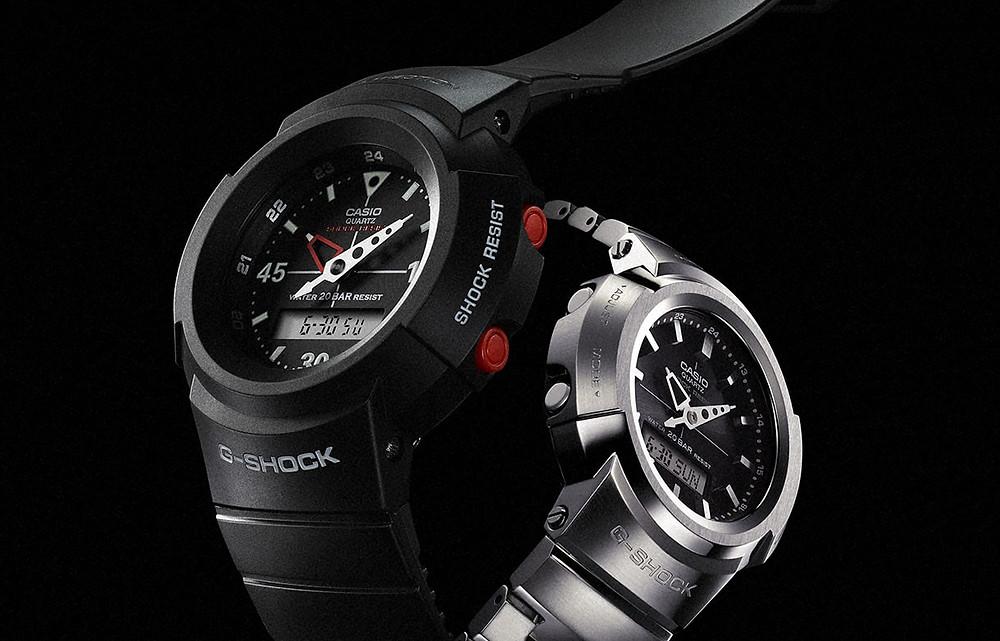 nuevos relojes gshock serie aw500 reeditados en 2020