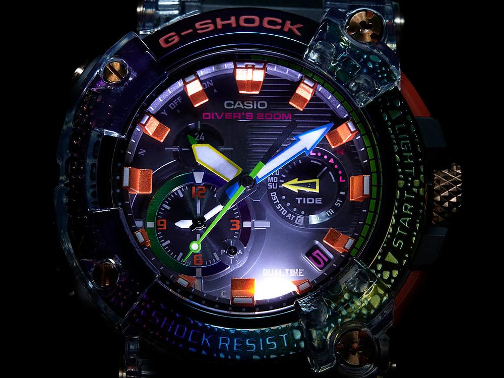 Edición limitada a 2.000 relojes del modelo frogman GWF-A1000BRT