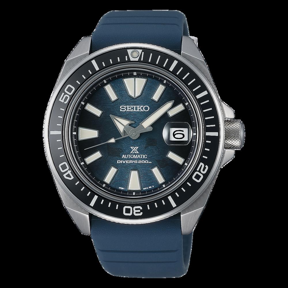 Nuevo reloj save the ocean de Seiko Prospex, modelo Samurai SRPF79K1