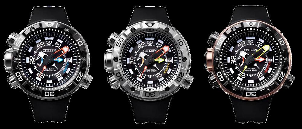 Reloj submarinismo japones citizen BN2024-05E