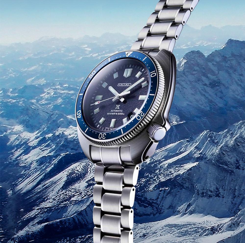 Nuevo Seiko Prospex Diver's SLA049 zafiro, acero con calibre automatico 8l35