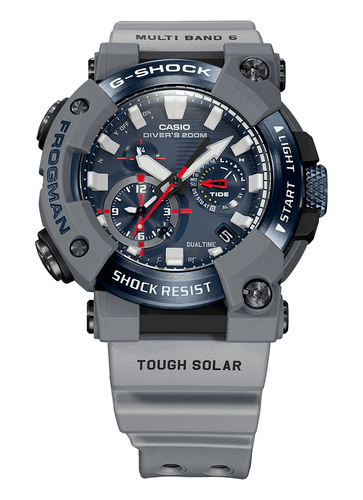 GWF-A1000RN reloj diver's g-shock x royal-navy edicion limitada