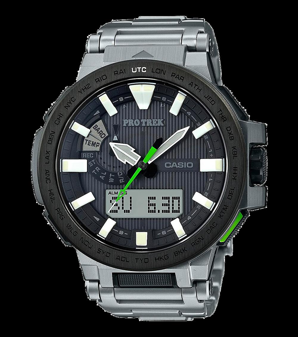 reloj alucinante Casio Protrek Manaslu PRX-8000T-7BJF