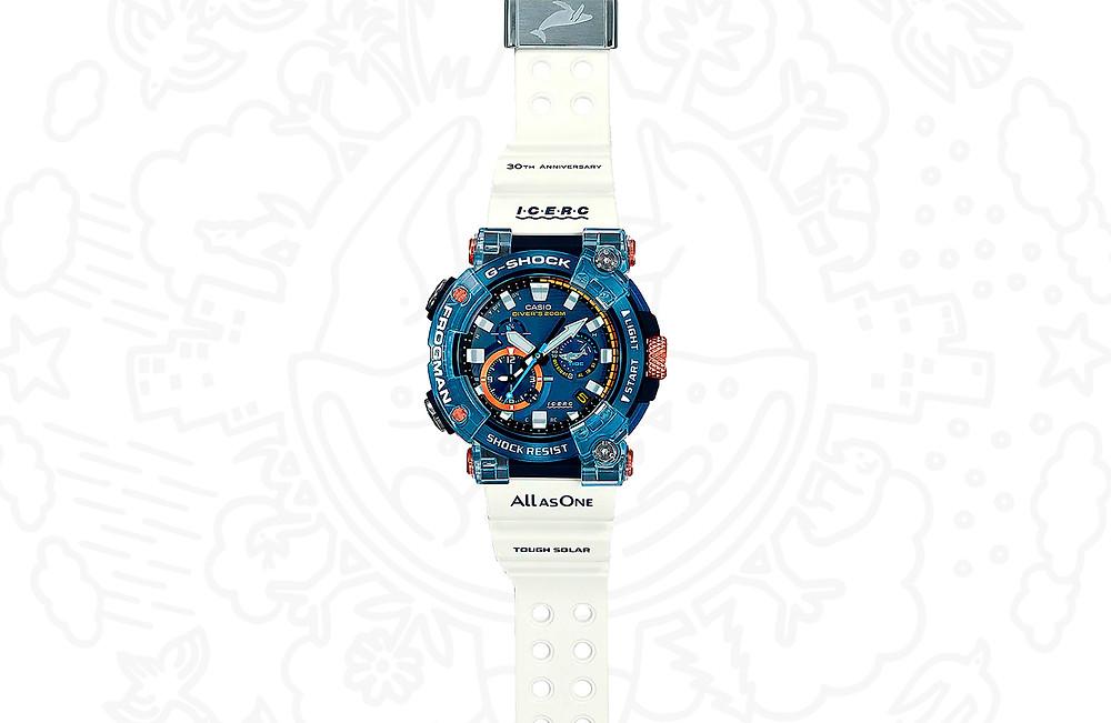 edición limitada reloj Frogman serie A1000 icerc JDM GWF-A1000K-2A