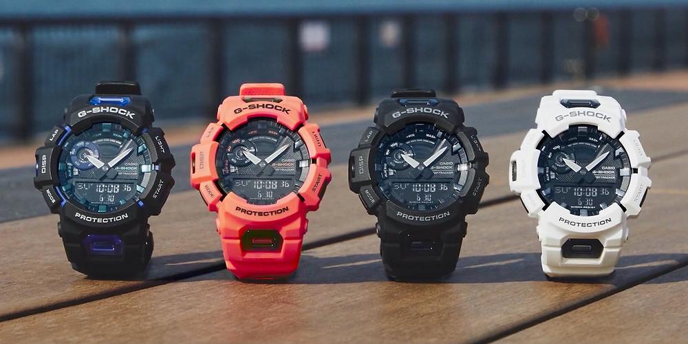colores disponibles 2021 reloj g-squad g-shock gba900