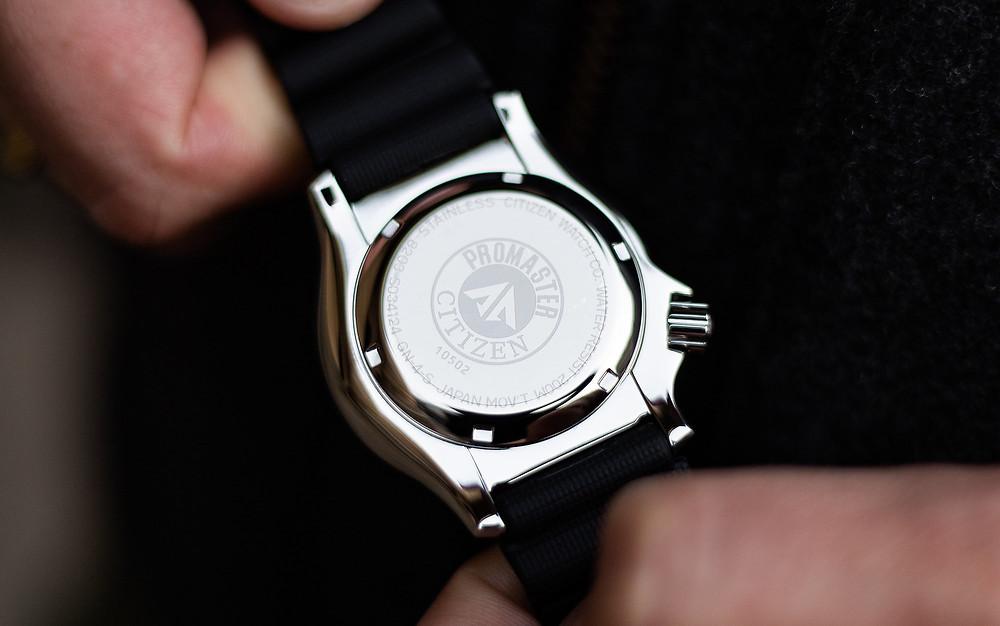 Reloj automático Citizen divers 200m referencia NY0086-83L
