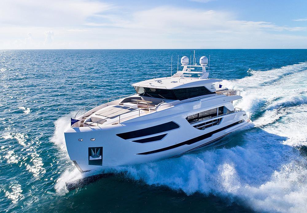Barco Horizon yacht FD90 nuevo en venta disponible febrero 2022
