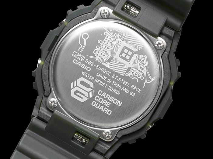 Tapa trasera especial casio G-Shock DWE-5600CC-3
